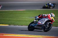 VALENCIA, SPAIN - NOVEMBER 8:  Julian Simon during Valencia MotoGP 2015 at Ricardo Tormo Circuit on November 8, 2015 in Valencia, Spain