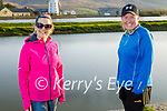 Enjoying a stroll in Blennerville on Tuesday evening, l to r: Theresa O'Brien and Andrea O'Donoghue