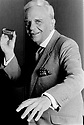"""Victor Kiam, American entrepeneur and spkesman for Remington Shaver . His catchphrase 'i lIKED THE SHAVER SO MUCH i BOUGHT THE COMPANY""""  11/91. CREDIT Geraint Lewis"""
