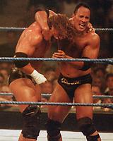 The Rock Triple H 1997                                                           Photo By John Barrett/PHOTOlink