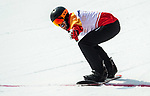 Andrew Genge, PyeongChang 2018 - Para Snowboard // Parasnowboard.<br />