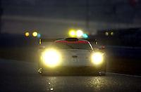 The #01 Bytzek GT1 Porsche splashes through the rain..39th Rolex 24 at Daytona, 3/4 February,2001 Daytona International Speedway  Daytona Beach,Florida,USA.©F.Peirce Williams 2001 ..