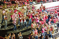 STANFORD, CA - FEBRUARY 14:  Band of the Stanford Cardinal during Stanford's 58-41 win against the California Golden Bears on February 14, 2009 at Maples Pavilion in Stanford, California.