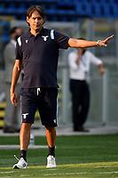 Simone Inzaghi coach of SS Lazio during the friendly football match between Frosinone calcio and SS Lazio at Benito Stirpe stadium in Frosinone (Italy), September 12th, 2020. SS Lazio won 1-0 over Frosinone. Photo Andrea Staccioli / Insidefoto