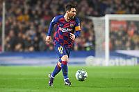 Lionel Messi<br /> <br /> <br /> 18/12/2019 <br /> Barcelona - Real Madrid<br /> Calcio La Liga 2019/2020 <br /> Photo Paco Largo Panoramic/insidefoto <br /> ITALY ONLY
