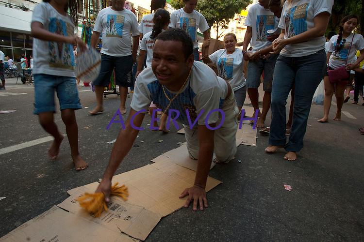 Círio de Nazaré.<br /> Belém, Pará, Brasil.<br /> Foto Paulo Santos<br /> 09/10/2011