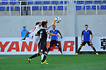 Lokomotiv vs Al Saad during the 2015 AFC Champions League Group C match on April 08, 2015 at the Lokomotiv Stadium in Tashkent, Uzbekistan. Photo by Anvar Ilyasov / World Sport Group