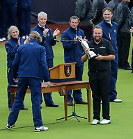 210719 | The 148th Open - Final Round<br /> <br /> Shane Lowry of Ireland wins the Claret Jug and is Championship Golfer Of The Year at the 148th Open Championship at Royal Portrush Golf Club, County Antrim, Northern Ireland. Photo by John Dickson - DICKSONDIGITAL