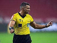 10th June 2021; Beira-Rio Stadium, Porto Alegre, Brazil; Copa do Brazil, Internacional versus Vitoria; Referee Felipe Fernandes de Lima gives his decision