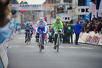 3 Days of De Panne.stage 1: Middelkerke - Zottegem..winner: Peter Sagan (SVK) & 2nd: Arnaud Démare (FRA)