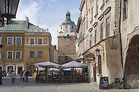 Europe/Pologne/Lublin: la place du marché - Rynek