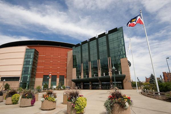 Pepsi Center for the Denver Nuggets Basketball, Denver, Colorado. .  John offers private photo tours in Denver, Boulder and throughout Colorado. Year-round Colorado photo tours.