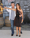 Salma Hayek and Antonio Banderas  attends DreamWorks Animation SKG L.A. Premiere of Puss in Boots held at The Regency Village  Theatre in Westwood, California on October 23,2011                                                                               © 2011 DVS / Hollywood Press Agency