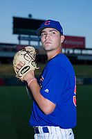 AZL Cubs pitcher Peyton Remy (54) poses for a photo before a game against the AZL Angels on August 31, 2017 at Sloan Park in Mesa, Arizona. AZL Cubs defeated the AZL Angels 9-2. (Zachary Lucy/Four Seam Images)