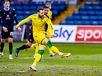 13th March 2021; Global Energy Stadium, Dingwall, Highland, Scotland; Scottish Premiership Football, Ross County versus Hibernian; Martin Boyle of Hibernian scores equaliser from penalty spot to make it 1-1 in the 52nd minute