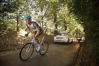Giacomo Nizzolo (ITA) up the Eikenmolen<br /> <br /> Eneco Tour 2013<br /> stage 7: Tienen - Geraardsbergen<br /> 208km