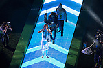 Real Madrid's player Luka Modric during the celebration of the victory of the Real Madrid Champions League at Santiago Bernabeu in Madrid. May 29. 2016. (ALTERPHOTOS/Borja B.Hojas)
