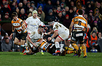 Saturday 22nd February 2020 | Ulster vs Cheetahs<br /> <br /> Adam McBurney during the PRO14 Round 12 clash between Ulster and the Cheetahs at Kingspan Stadium, Ravenhill Park, Belfast, Northern Ireland. Photo by John Dickson / DICKSONDIGITAL