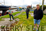Members of the Fenit Community Group in Fenit on Saturday.<br /> Front : Mike O'Neill.<br /> Back l to r: Liam Doyle and John Moriarty.