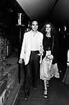 STEFANIA SANDRELLI CON MARIO CEROLI<br /> JACKIEO' ROMA 1978