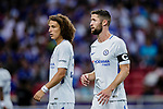 Chelsea Defender Gary Cahill (R) in action during the International Champions Cup 2017 match between FC Internazionale and Chelsea FC on July 29, 2017 in Singapore. Photo by Marcio Rodrigo Machado / Power Sport Images