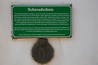 Sudafrica- SouthAfrica - stellenbosch the oldest town house in South Africa 1709 National monument - targa