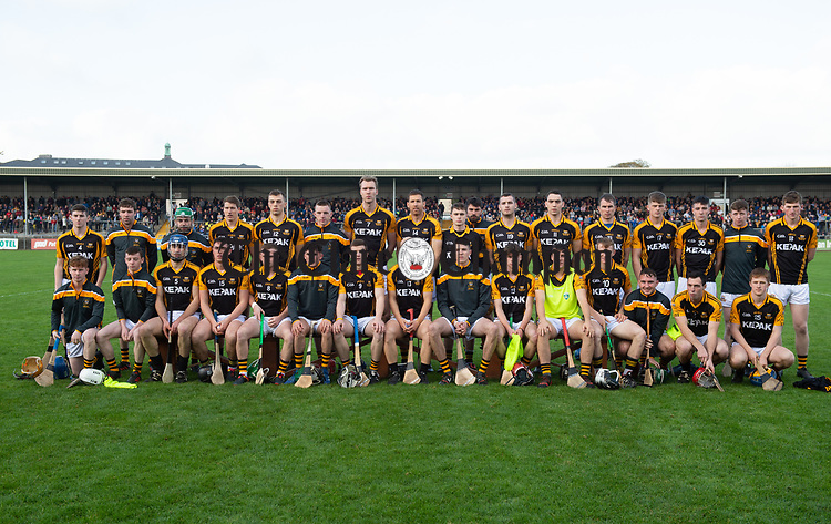 The Ballyea team before the county senior hurling final against Cratloe at Cusack Park. Photograph by John Kelly.