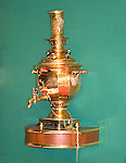Antique Russian Teapot, Russian Tea Room, New York, New York