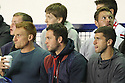 Former Stevenage players Mark Roberts, Chris Beardsley, John Mousinho and Scott Laird look on<br />  - Everton v Stevenage - Capital One Cup Second Round - Goodison Park, Liverpool - 28th August, 2013<br />  © Kevin Coleman 2013
