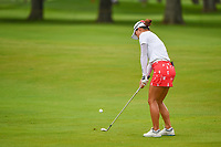 16th July 2021, Midland, MI, USA;  Minjee Lee (AUS) chips on to 3 during the Dow Great Lakes Bay Invitational Rd3 at Midland Country Club on July 16, 2021 in Midland, Michigan.