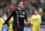 Bayern Munich's Luca Toni reacts during UEFA Cup match, April 03, 2008. (ALTERPHOTOS/Alvaro Hernandez)