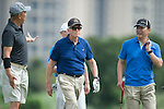 Michael Douglas at the World Celebrity Pro-Am 2016 Mission Hills China Golf Tournament on 21 October 2016, in Haikou, China. Photo by Marcio Machado / Power Sport Images