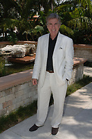 """WELLINGTON, FL - APRIL 19, 2006: America's Most Wanted John Walsh at the 102nd Stanford Financial Group US Open Championship featuring Top-seeded Las Monjitas, defeated No. 7 Orchard Hill by the score of 12 to 6 in its first appearance in the finals. More than 7,000 spectators attended the championship match. Las Monjitas, which translates to """"the little nuns,"""" features 9-goaler Adam Snow of Aiken, SC.<br /> <br /> People;  John Walsh"""