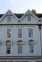 Bath: Shops--upper storeys, near Abbey.