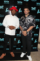MIAMI, FL - FEBRUARY 19: P-Reala & Jason Lee attend Floyd Mayweather's 44th futuristic Birthday Party at Casablanca on the Bay on February 19, 2021 in Miami, Florida. Photo Credit: Walik Goshorn/Mediapunch