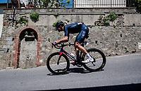 Filippo Ganna (ITA/INEOS Grenadiers) at a crazy fast  descent mid-race<br /> <br /> 104th Giro d'Italia 2021 (2.UWT)<br /> Stage 12 from Siena to Bagno di Romagna (212km)<br /> <br /> ©kramon