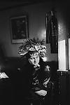 Blitz Club Covent Garden London 1980. <br /> <br /> Jacqui surname. Thanks to Kim Bowen.