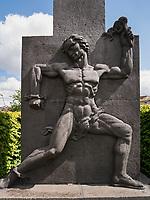 Denkmal Ferdinand Domda 1931, Amsterdam, Provinz Nordholland, Niederlande<br /> Monument Ferdinand Domda 1931, Amsterdam, Province North Holland, Netherlands
