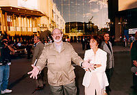 Montreal (Qc) CANADA - 1995 File Photo -<br /> <br /> Brian DePalma , Jury member, Louise Beaudoin, Cultural Affairs Minister, Quebec (R)<br />  on opening night.<br /> <br /> <br /> photo (c) Pierre Roussel - Images Distribution