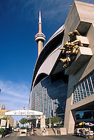 The entrance to SkyDome Hotel, Toronto, Ontario, Canada.<br /> Original on slide. Tiff file is available on request.