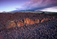 Beautiful view of the historic hoapili trail, keonioio located on Maui