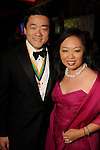 Gene Wu and his wife Miya Shay at the 14th Annual San Luis Salute at the Galveston Island Convention Center Friday Feb 28, 2014.(Dave Rossman photo)