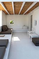 cycladic white patio