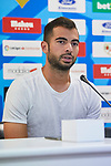 Jordi Amat during his official presentation at Vallecas Stadium in Madrid, Spain. August 24, 2018. (ALTERPHOTOS/A. Perez Meca)