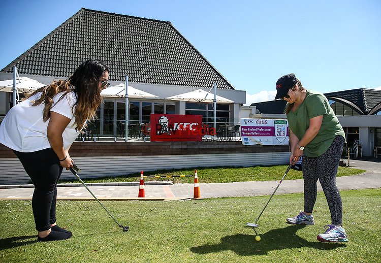 Anita Boon Pro-am, Remuera Golf Course, Auckland, New Zealand, Monday 15th October2018. Photo: Simon Watts/www.bwmedia.co.nz