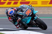 27th August 2021; Silverstone Circuit, Silverstone, Northamptonshire, England; MotoGP British Grand Prix, Practice Day; Petronas Yamaha SRT rider Jake Dixon on his Yamaha YZR-M1