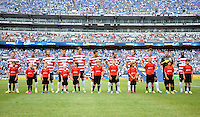 USMNT during the presentation.  The USMNT defeated El Salvador 5-1 at the quaterfinal game of the Concacaf Gold Cup, M&T Stadium, Sunday July 21 , 2013.