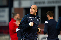 16th March 2021; Dens Park, Dundee, Scotland; Scottish Championship Football, Dundee FC versus Ayr United; Charlie Adam of Dundee during the warm up before the match