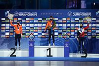 SPEEDSKATING: HEERENVEEN: 17-01-2021, IJsstadion Thialf,  ISU European Championships, Irene Schouten, Antoinette de Jong, Martina Sáblíková, ©photo Martin de Jong SPEEDSKATING: HEERENVEEN: 17-01-2021, IJsstadion Thialf, ISU European Speed Skating Championships, ©photo Martin de Jong