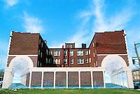 St. Louis: Mural--University City Loop.